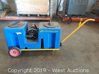 Brikasaurus Portable Water Recycle Pump System