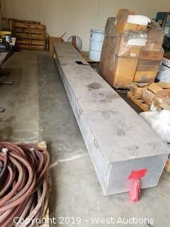 """Aluminum Storage Box (17.5' × 23"""")"""