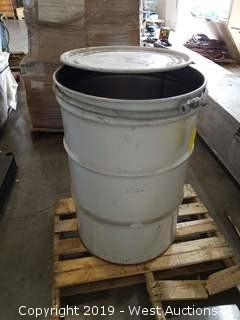 55-Gallon Drum and 30'+ Heavy Transport Chain
