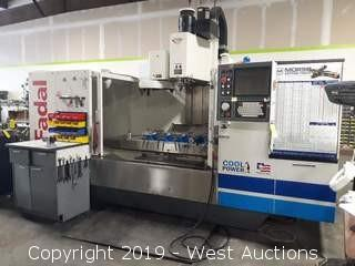 2004 Fadal VMC6030 HT CNC Milling Center With Accessories