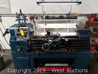 Goodway GW-1440 Engine Lathe With Accessories