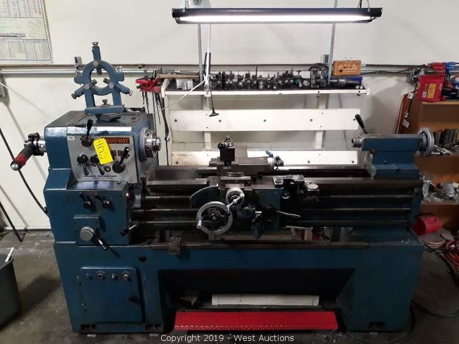 Retirement Auction of Provel Precision Machine Shop in Newark, CA
