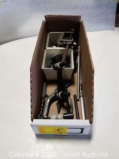Box: Assorted Machinist's Clamps/Pins/Springs