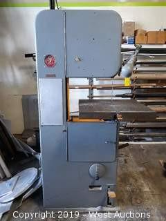 "DoAll 9"" Variable Speed Bandsaw"