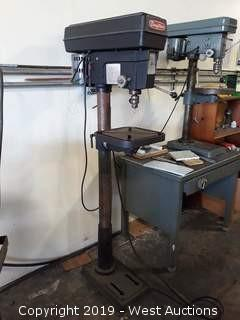 Dayton 3Z918B 5 Speed Drill Press