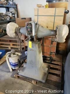 Cincinnati Industrial Polisher (For Parts)