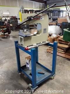 2016 Baileigh BP-3 Manual Press Brake With Portable Stand