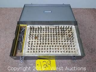 Machinists -.0002 Pin Gauge Set (Incomplete)
