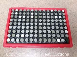 Machinists -.0002 Pin Gauge Set
