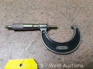 "Starrett 228 1-2"" Micrometer"