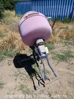 Husky Electric Cement Mixer