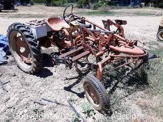 Custom Built Cultivating Electric Tractor