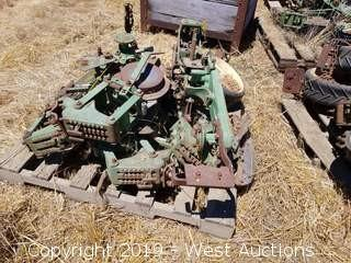 (3) John Deere 71 Mechanical Equipment Attachments