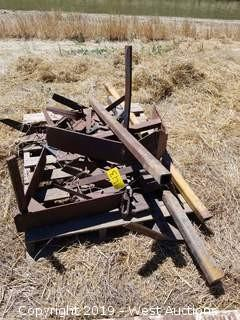 (5) Homemade Tool Bars and Plow Attachments