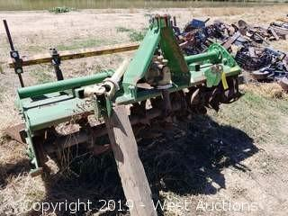John Deere 665 PTO-Powered 6' Mechanical Tiller