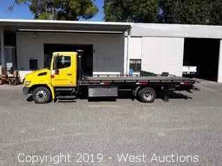 2010 Hino Rollback Tow Truck