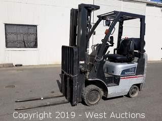 Nissan 35 3,000 LB Capacity Propane Forklift