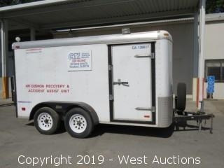 2000 Pace American CS612TA2 12' Enclosed Trailer