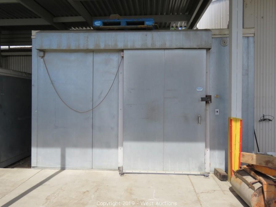 Online Auction of 2010 Hino Rollback Tow Truck, Forklifts, Walk-in Refrigerators and Freezers
