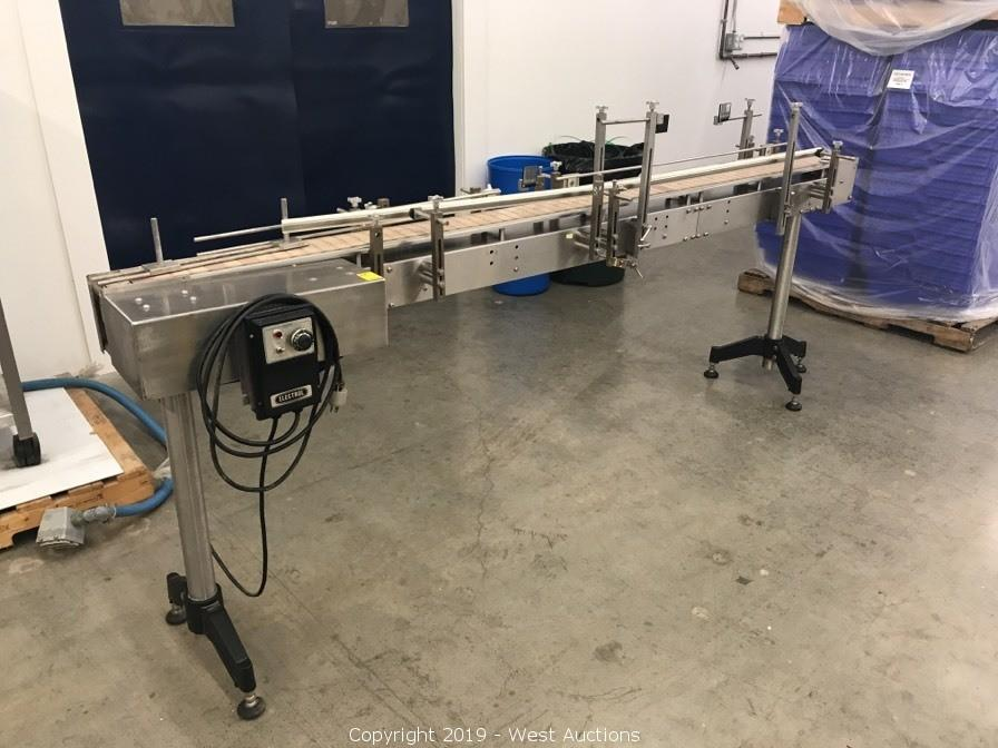 Online Auction of Assembly Conveyor, Wrapping Machines,  and Laboratory Equipment in Northern California
