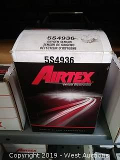 Shelf of AIRTEX Sensors