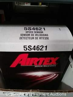 Shelf of AIRTEX Speed Sensors