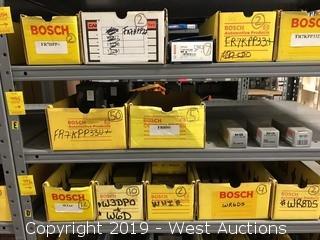 (55) Bosch Spark Plugs (3) Bosch Glow Plugs
