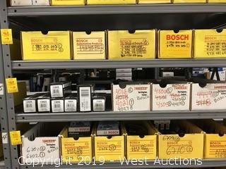(7) Bosch Oxygen Sensors (66) Bosch Spark Plugs