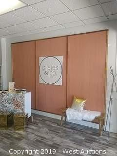 """Large Decorative Wooden Wall Covering 8ftH×12.5ft"""""""