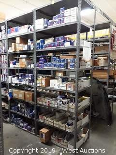 (1)  Rack of ACDelco Oil Filters, Fuel Strainers, And More