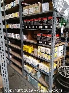 Bulk Lot: Rack of Assorted GE & Autolite Items