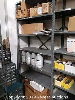 Bulk Lot: Soap Dispensers, Roll Plastic Sheeting, Engine Block Filler, Brake Cables