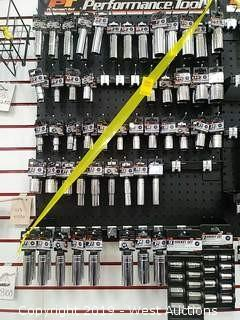 Bulk Lot: Wall of Performance Tools Sockets & Sets