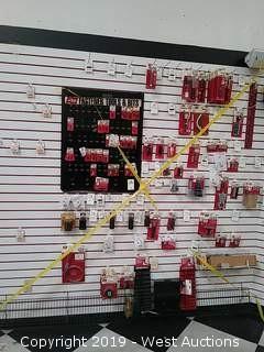 Bulk Lot: Wall of Lisle Tools & Hardware