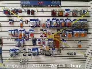 Bulk Lot: Wall of Grote Markers, Signals, Reflectors, Light Components
