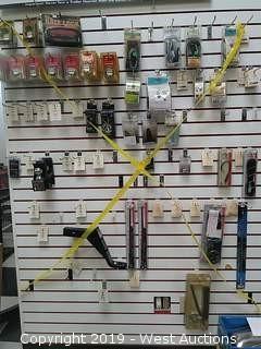 Bulk Lot: Wall of Towing & Antenna Parts