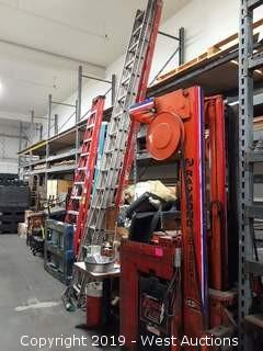 (5) Sections Of 16' Pallet Racking