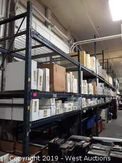 (8) 16' and (2) 11' Sections Of Pallet Racking