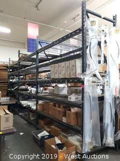 (4) Sections Of  11' Pallet Racking