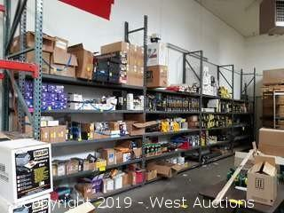 (4) 12' Sections Product Racking