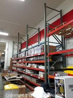 (3) Sections Of 16' Pallet Racking