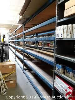 (6) Sections Of 8'/10' Pallet Racking