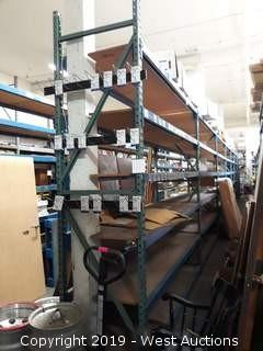(6) Sections Of 10' Product Racking