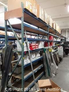 (6) 10' Sections Of Product Racking