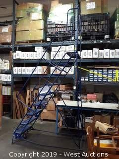 7' Rolling Warehouse Ladder