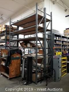 (2) Sections Of 12' Product Racking