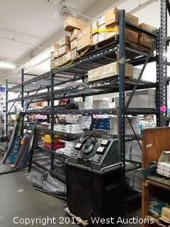 (3) Sections Of 11' Pallet Racking