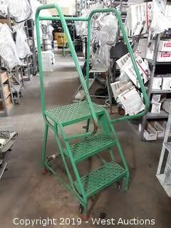 2.5' Rolling Warehouse Ladder