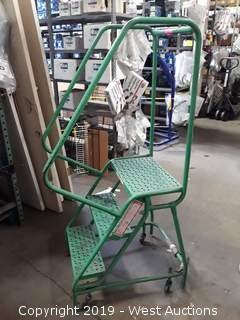 2.5' Rolling Warehouse Ladder