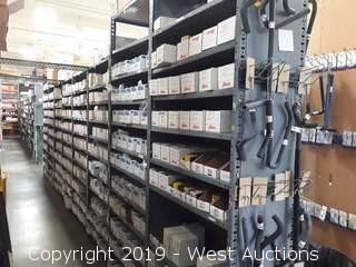 55' (20) Sections Of Product Racking